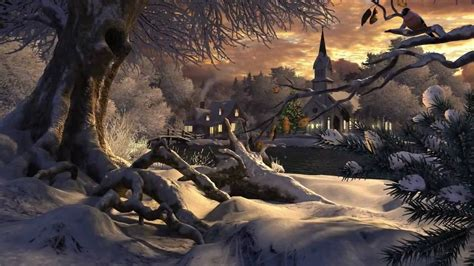 3d Winter Animated Wallpaper - lovely 3d winter animated wallpaper anime