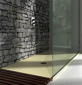 Receveur de douche extra plat dimension 90x90 à 90x210 Finition Pizarra de Resigres Resigres