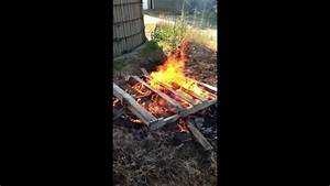 Burning Copper Wire