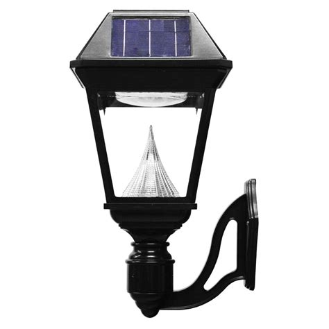 commercial solar outdoor lighting gama sonic imperial ii wall mount solar light