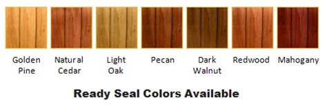Ready Seal Deck Stain by Wood Fence