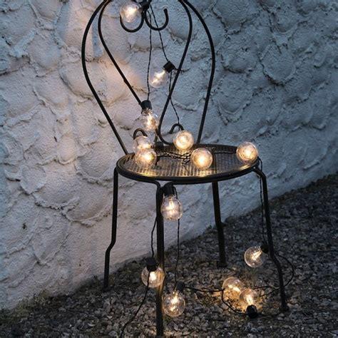 guirlande led deco ampoule blanc chaud eclairage design