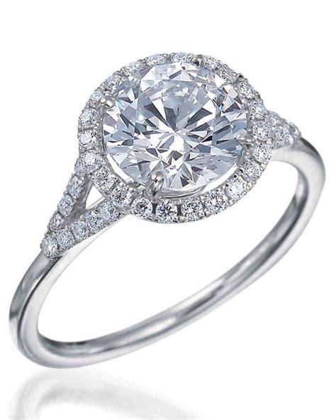 cut diamond engagement rings martha stewart weddings