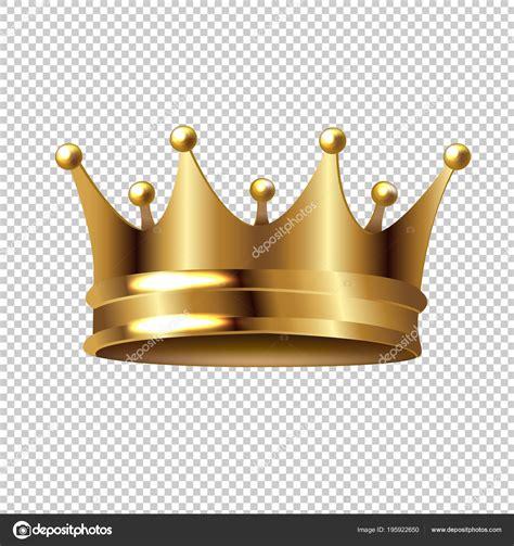 Crown Transparent Background Golden Crown Isolated Transparent Background Gradient Mesh