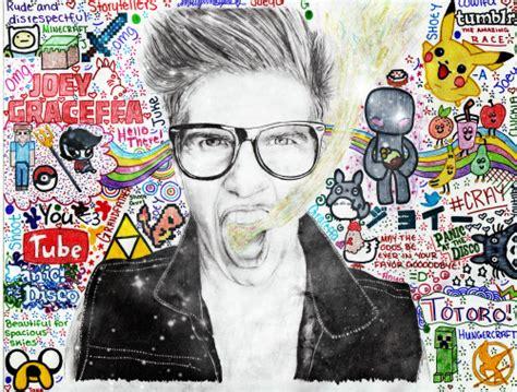 joey graceffa drawing tumblr