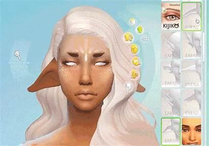Sims Ears Elf Cc Ear Fantasy Mods
