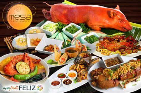 50% Off Food & Drinks Promo At Mesa Ayala Malls Feliz