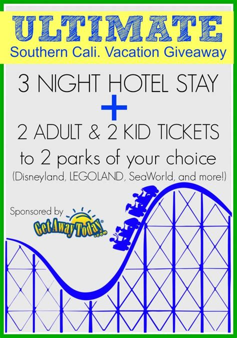 decor ultimate getaway sweepstakes southern california vacation giveaway our thrifty ideas