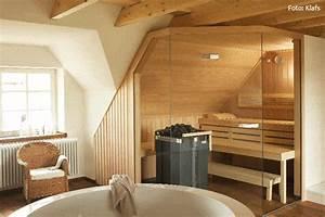 Sauna Zu Hause : mehr als nur sauna ~ Markanthonyermac.com Haus und Dekorationen