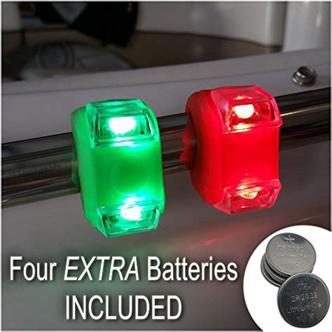 Boat Safety Lights by Bright Green Portable Marine Led Boating Lights