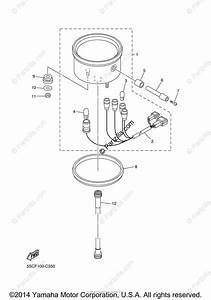 Yamaha Motorcycle 2009 Oem Parts Diagram For Meter