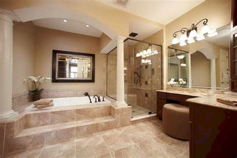 ideas for master bathrooms 20 stunning cozy master bathroom remodel ideas homedecort