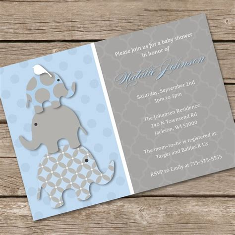 How To Make Homemade Baby Shower Invitations FREE
