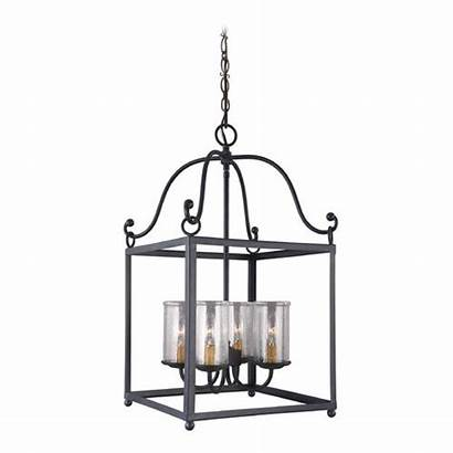 Pendant Iron Lighting Glass Destinationlighting Feiss