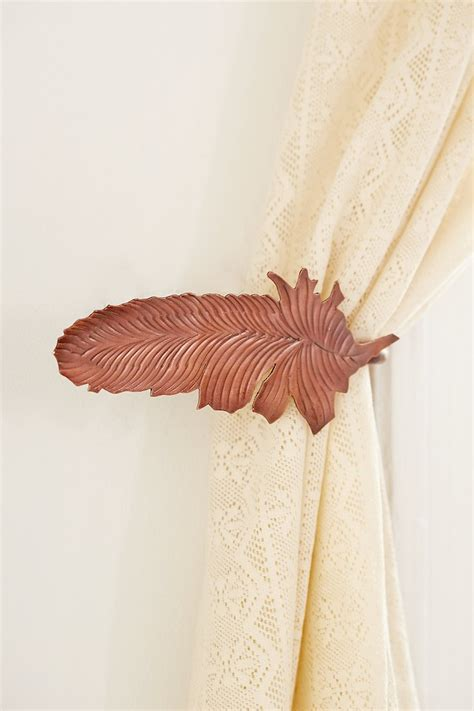 magical thinking feather curtain tie back outfitters