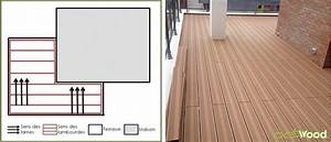 Pose Lame Terrasse Composite : dans quel sens poser mes lames de terrasse composite ~ Premium-room.com Idées de Décoration