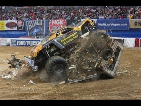funny monster truck videos insanely funny monster truck fail complition youtube