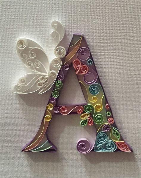 ideas  quilling letters  pinterest paper
