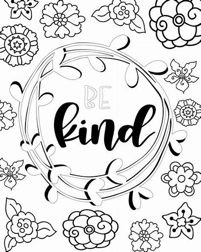 Coloring Pages Printable Sheets Kind Easy Pretty