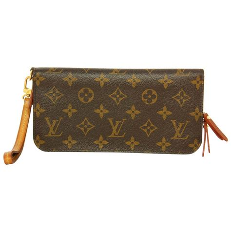 louis vuitton monogram insolite wallet  wristlet rt   stdibs
