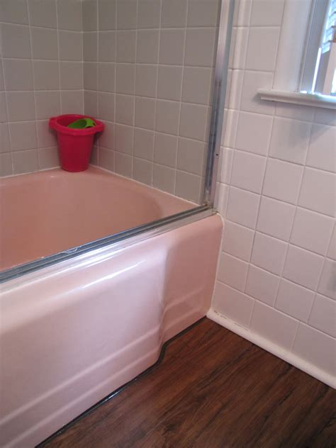 Fliesenlack Pink by Smoke Mirrors A Bathroom Reveal The Painted Home