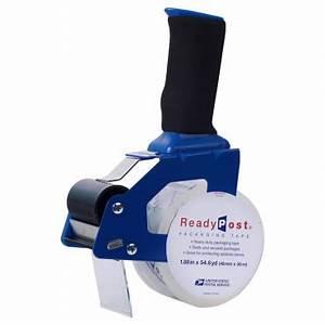 Readypost 1 88 In X 54 6 Yd Foam Handle Packaging Tape Gun