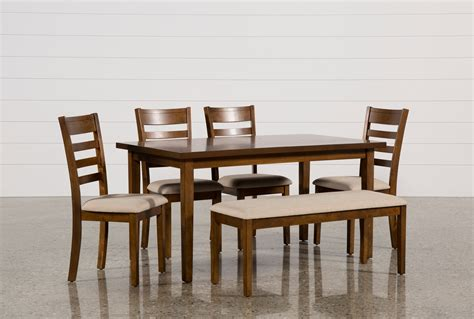 patterson 6 piece dining set living spaces