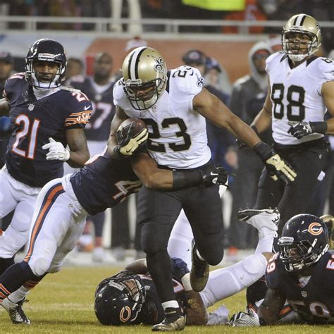 orleans saints  chicago bears   orleans