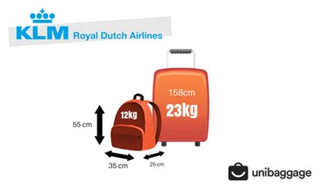 klm  baggage allowance  fees