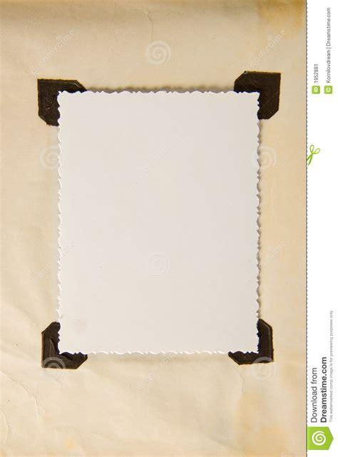 paper frame stock image image  blank photo photoalbum