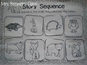 The Mitten Story Sequencing Activities