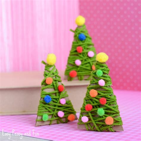 yarn wrapped tree ornaments yarn wrapped tree ornaments easy peasy and 7363
