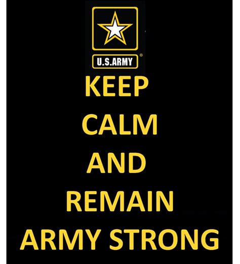 Keep Calm And Army Strong  Land Of The Free Because Of The Brave  Pinterest  Keep Calm And Army