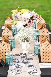 Shabby, Chic, Graduation, Party, Ideas, With, Boxed, Lunch