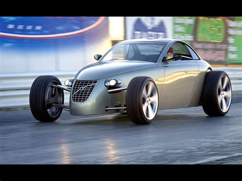 Volvo Rod by 2005 Volvo T6 Roadster Rod Concept Side Angle
