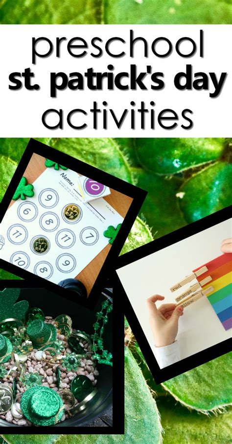st s day activities for fantastic 718 | preschool st. patricks day pin2