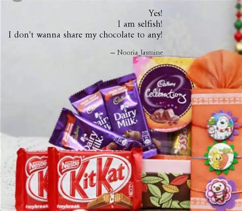 And that often takes doing the thing you least want to do. Chocolate Selfish - Asiu Cax