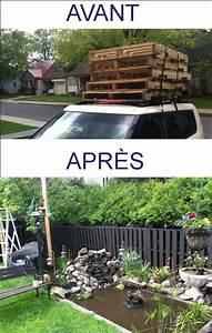 Idee Cloture Jardin : quoi faire avec palette de bois cl ture co t des ~ Melissatoandfro.com Idées de Décoration