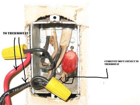 Single Pole Double Thermostat Electrical Diy