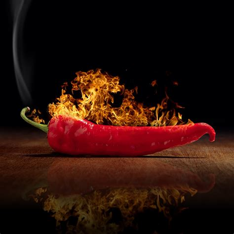 picture chili pepper flame food pepper