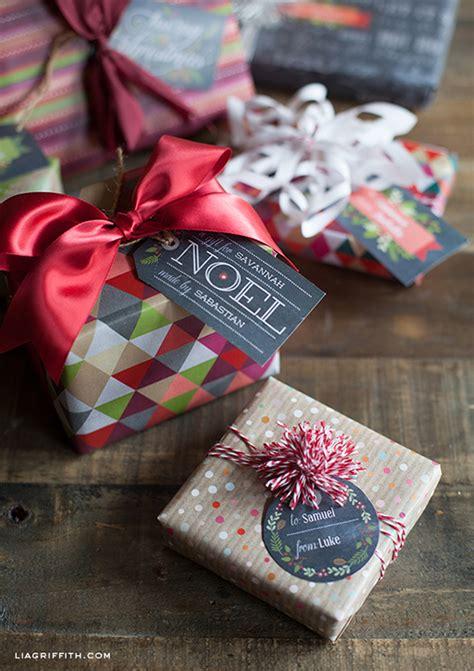printable christmas gift tags  gift labels