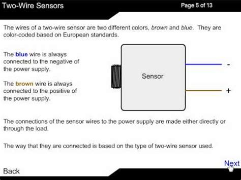 2 wire dc sensor working principle