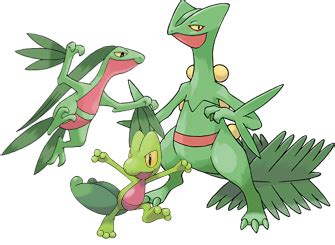 origin  species treecko grovyle  sceptile