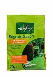 Engrais Desherbant Anti Mousse Gazon : gazon anti mousse d sherbant 20 kg aix la garde hyeres ~ Dailycaller-alerts.com Idées de Décoration