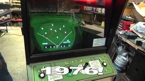 bally midway tornado baseball  vintage arcade