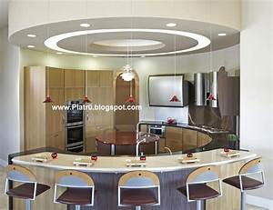 Meuble Separation Cuisine Salon : separation de piece moderne avec cuisine et salon moderne ~ Dailycaller-alerts.com Idées de Décoration