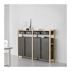 are ikea cabinets durable ikea ivar 2 section storage unit w cabinets untreated