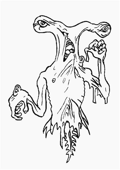 Kleurplaat Enge Monsters by Monsters Inc Dibujos Para Colorear Disneydibujos