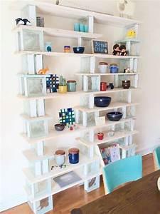 DIY Bibliothque En Bois Et Verre Blog Deco Clem