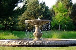 Grand, Single, Tier, 4m, Sandstone, Stone, Water, Fountain, Feature